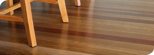 Long-lasting hardwood floor finish
