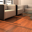 Yellow birch flooring